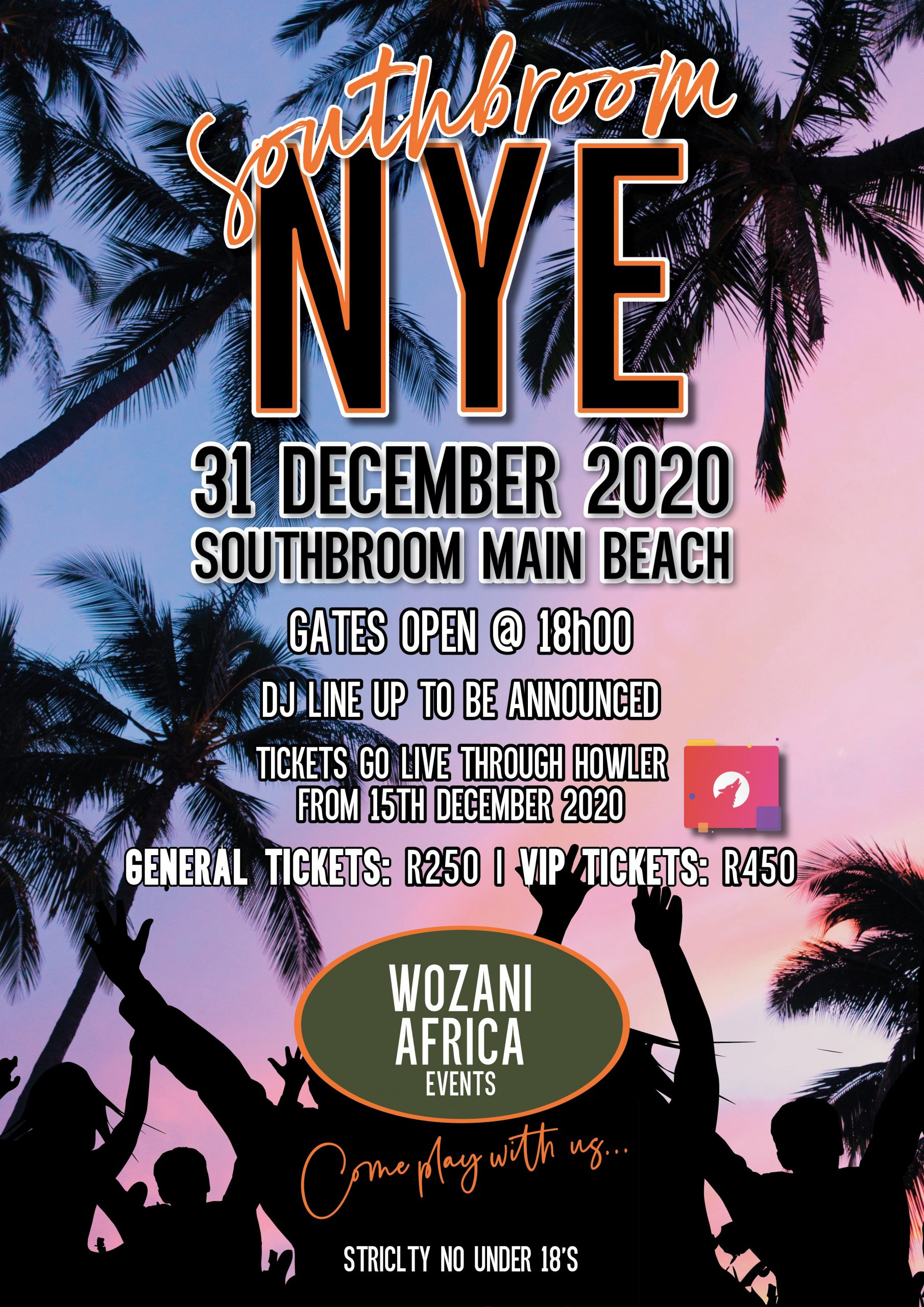 Southbroom New Years Eve 2021 – WOZANI AFRICA EVENTS